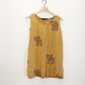 Vintage Tropical Fashion Cat Tank
